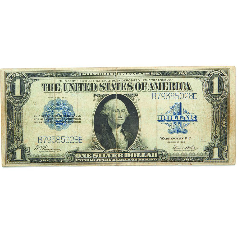 1923 1 Silver Certificate Vf