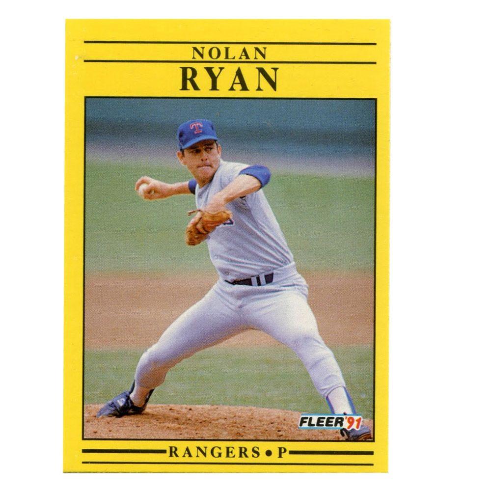 1992 Baseball Commemorative W Nolan Ryan Card